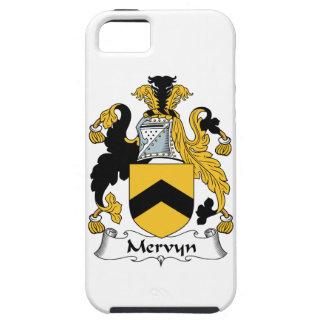 Escudo de la familia de Mervyn iPhone 5 Carcasas