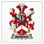 Escudo de la familia de Merwood Relojes