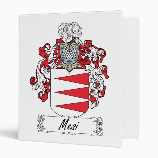 Escudo de la familia de Mesi