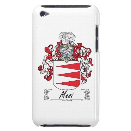 Escudo de la familia de Mesi Barely There iPod Fundas