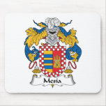 Escudo de la familia de Mesia Tapetes De Ratón