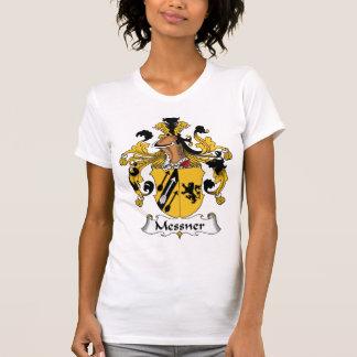 Escudo de la familia de Messner Camiseta