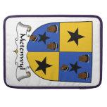 Escudo de la familia de Metenwyl Fundas Para Macbook Pro