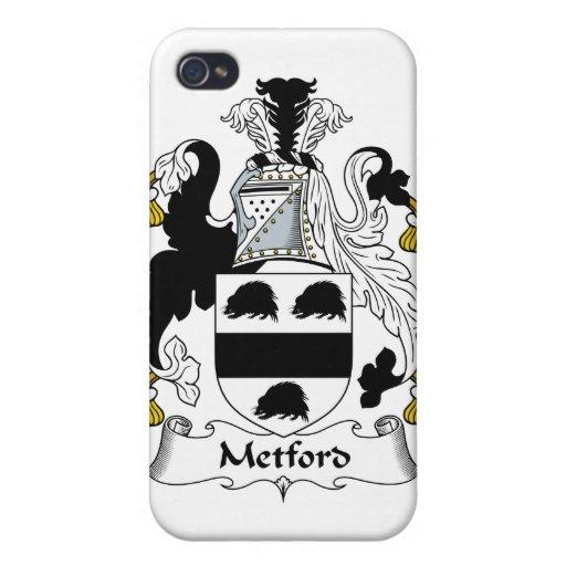 Escudo de la familia de Metford iPhone 4/4S Carcasas