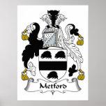 Escudo de la familia de Metford Impresiones
