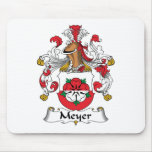 Escudo de la familia de Meyer Alfombrilla De Ratones