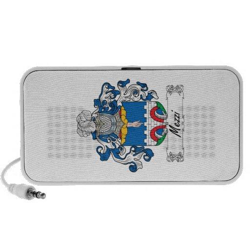 Escudo de la familia de Mezzi iPod Altavoz