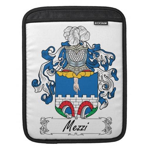 Escudo de la familia de Mezzi Mangas De iPad