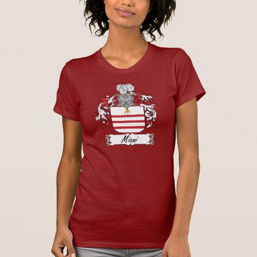 Escudo de la familia de Miani Camiseta