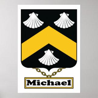 Escudo de la familia de Michael Póster