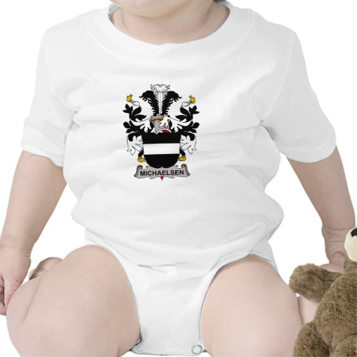 Escudo de la familia de Michaelsen Traje De Bebé