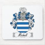 Escudo de la familia de Micheli Alfombrillas De Ratón