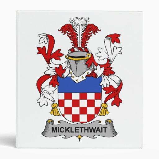 Escudo de la familia de Micklethwait