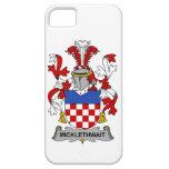 Escudo de la familia de Micklethwait iPhone 5 Case-Mate Funda