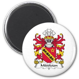 Escudo de la familia de Middleton Imán