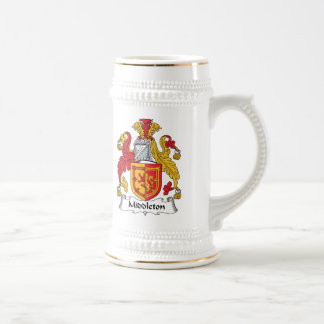 Escudo de la familia de Middleton Jarra De Cerveza