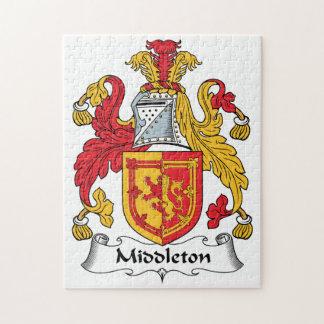 Escudo de la familia de Middleton Rompecabezas