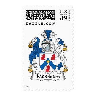 Escudo de la familia de Middleton Sellos