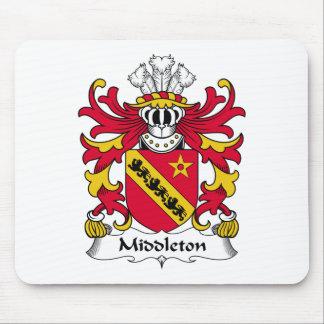 Escudo de la familia de Middleton Tapete De Ratones