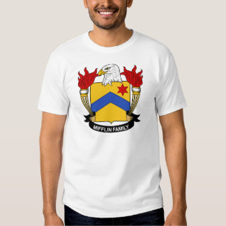 Escudo de la familia de Mifflin Camisas