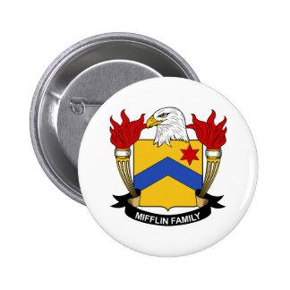 Escudo de la familia de Mifflin Pin