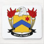 Escudo de la familia de Mifflin Tapete De Ratones