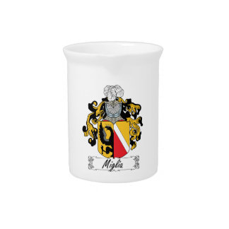 Escudo de la familia de Miglia Jarras De Beber
