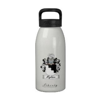 Escudo de la familia de Migliore Botellas De Beber