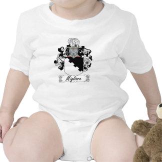 Escudo de la familia de Migliore Camisetas