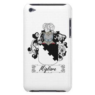 Escudo de la familia de Migliore iPod Case-Mate Fundas