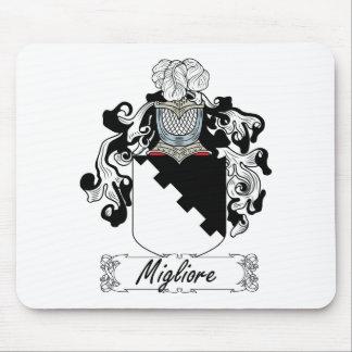 Escudo de la familia de Migliore Alfombrilla De Ratón