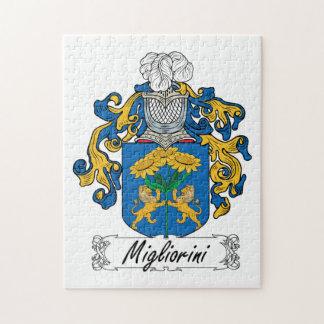 Escudo de la familia de Migliorini Puzzle Con Fotos
