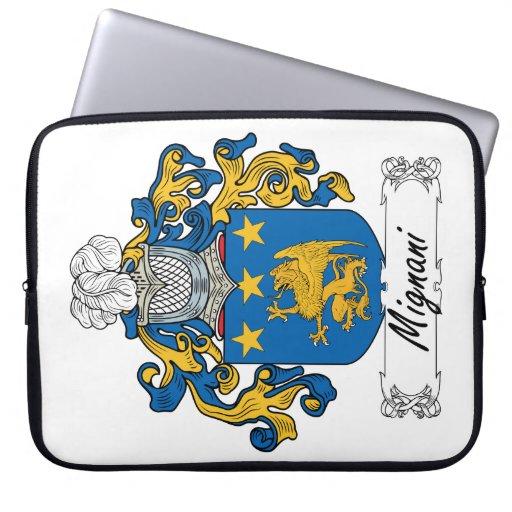 Escudo de la familia de Mignani Mangas Portátiles