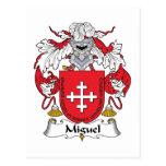 Escudo de la familia de Miguel Postales