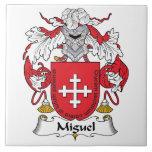 Escudo de la familia de Miguel Teja Ceramica