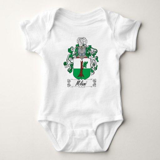 Escudo de la familia de Milani Body Para Bebé