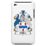 Escudo de la familia de Miller Case-Mate iPod Touch Cárcasa