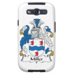 Escudo de la familia de Miller Galaxy S3 Protector