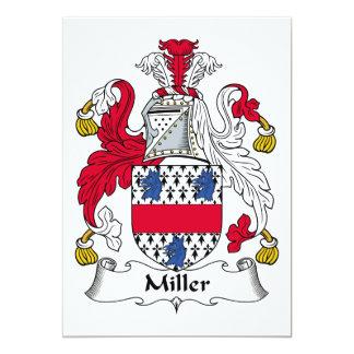 Escudo de la familia de Miller Comunicados Personalizados