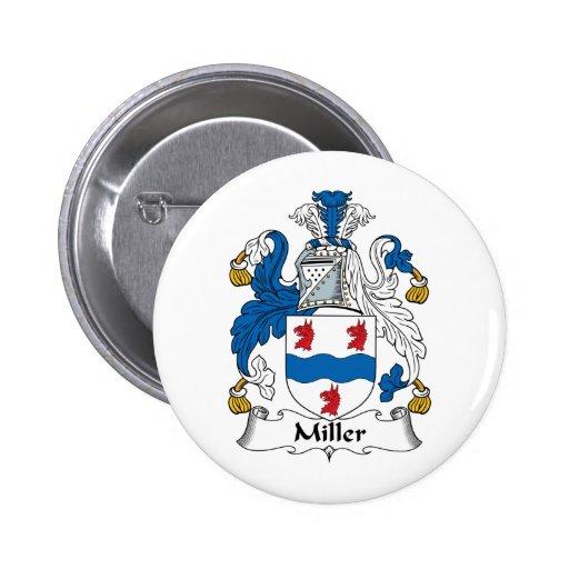 Escudo de la familia de Miller Pin