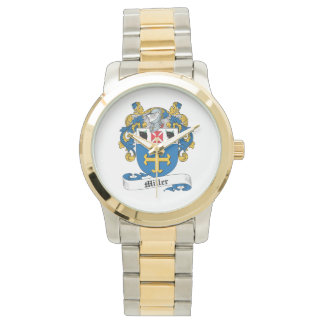 Escudo de la familia de Miller Reloj De Mano