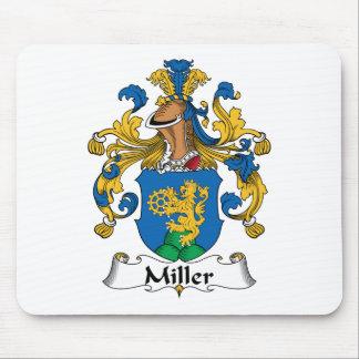 Escudo de la familia de Miller Alfombrillas De Ratón