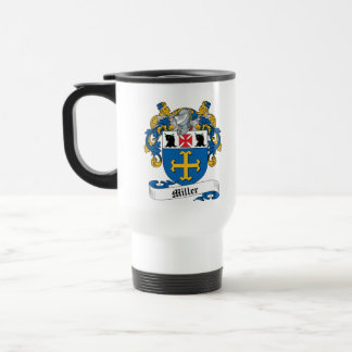 Escudo de la familia de Miller Tazas De Café