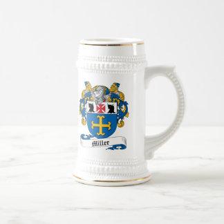 Escudo de la familia de Miller Taza De Café