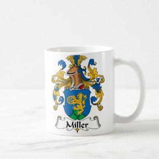 Escudo de la familia de Miller Tazas