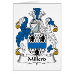 Escudo de la familia de Millerd Felicitaciones