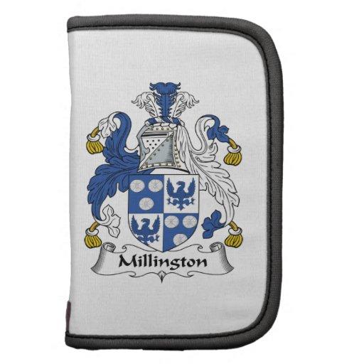 Escudo de la familia de Millington Planificadores