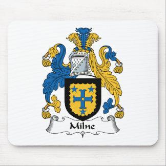 Escudo de la familia de Milne Alfombrillas De Raton