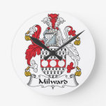 Escudo de la familia de Milward Reloj