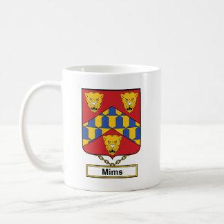 Escudo de la familia de Mims Taza